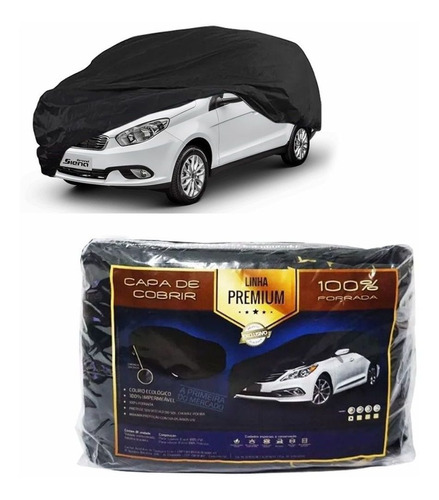 Imagem 1 de 2 de Capa Couro Cobrir Fiat Grand Siena Forro Total