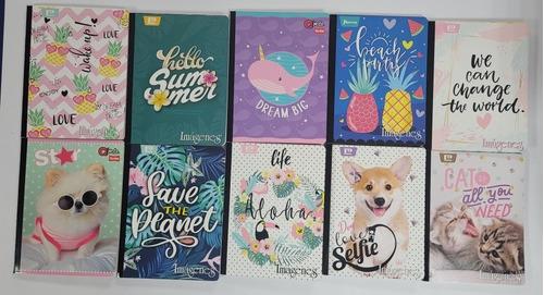 Cuadernos Cosidos Imágenes Coleccion 2021 Grandes Femeninos