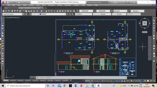 Imagem 1 de 1 de Faço Projetos Arquitetônicos!