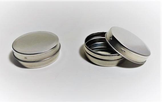 Latas Pastilleras 5,8cm X 2,5cm Pack X 100 Unidades Souvenir