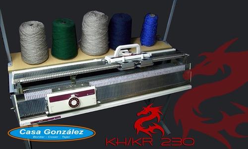Imagen 1 de 7 de Máquina Con Suplemento Para Tejer Enigma Kh/kr-230