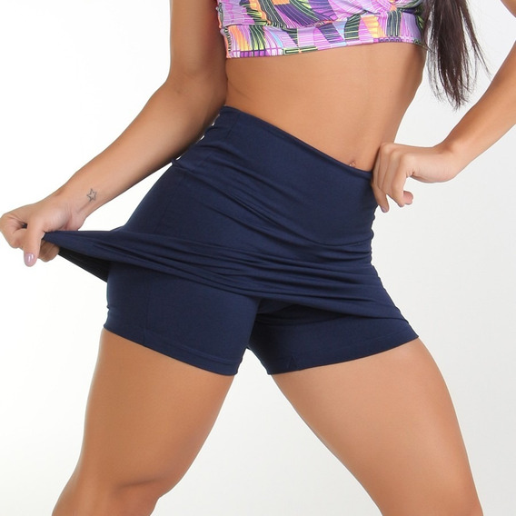 Kit 2 Shorts Saia Plus Size Suplex Power+ 2 Leg Bolha Cós Al
