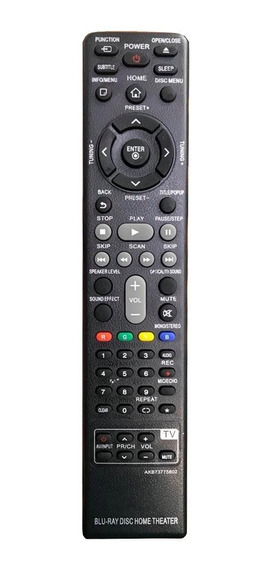 Controle Remoto Para Blu-ray / Home Lg Akb73775802
