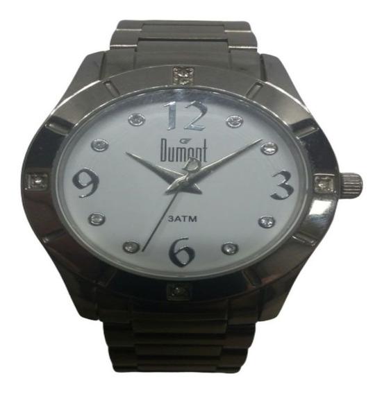 Relógio Dumont Feminino Fashion Prateado Sa25119bs