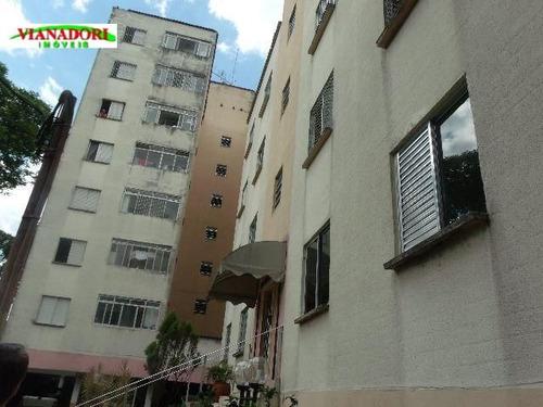 Imagem 1 de 12 de Ótimo Apartamento À Venda, Vila Augusta, Guarulhos. - Ap0712