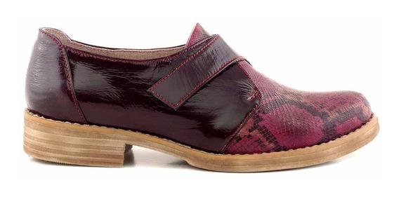 Zapato Mujer Cuero Briganti Vestir Abrojo Mccz03408 Hr