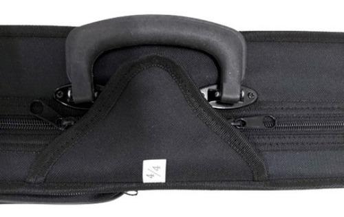 Imagem 1 de 1 de Case Marquês Ej11 Para Violino 4/4 Preto