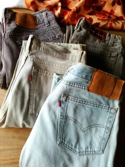 Pantalón Jeans Marca Levi Y Marca Usa. Original.
