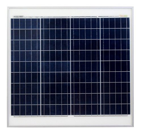 Imagen 1 de 4 de Panel Solar 50 Watts 12 V Policristalino 36 Celdas Grado A