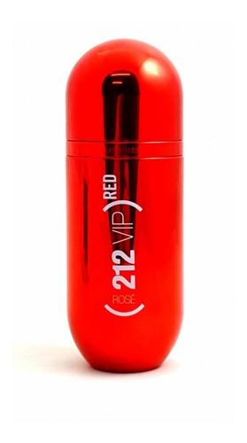 Imagen 1 de 4 de Perfume Carolina Herrera 212 Vip Rose Red Edp 80 Ml 0riginal