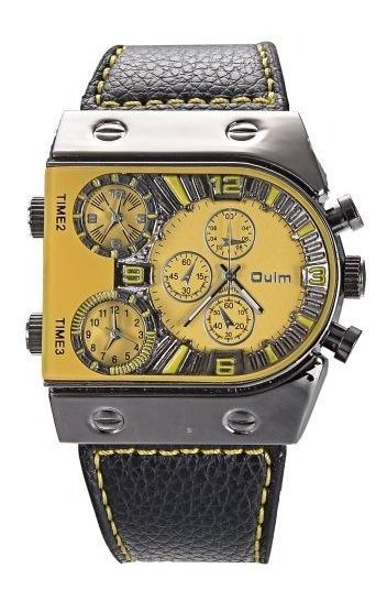 Reloj Oulm Mt-86 Negro