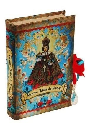 Caixa Livro Decorativo Menino Jesus De Praga