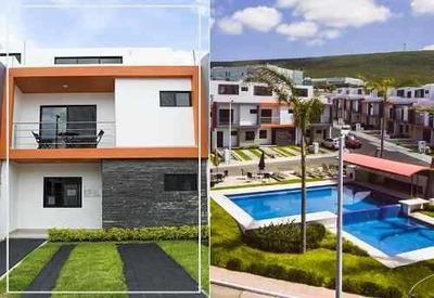 Linda Casa, El Refugio, Alberca, 3 Niveles 4 Recámaras, 3.5 Baños Roof Garden