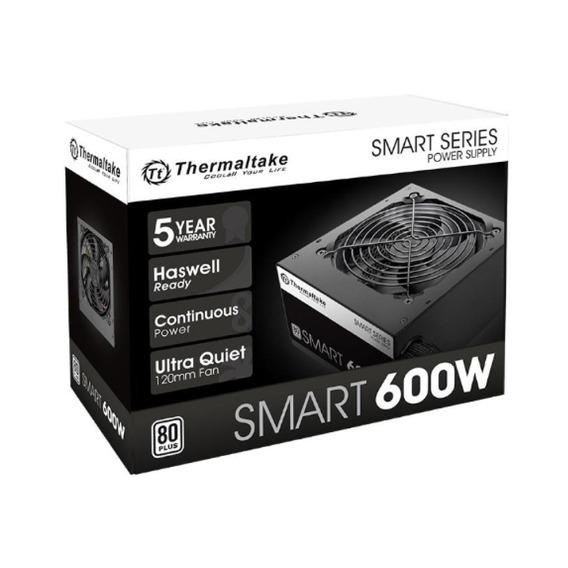 Fuente Pc Thermaltake Smart White 600w 80 Plus Pc