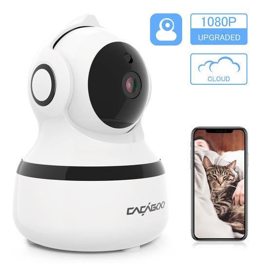 Cacagoo 1080 P Câmera Ip Fhd Wi-fi Sem Fio 2.4 G Wifi