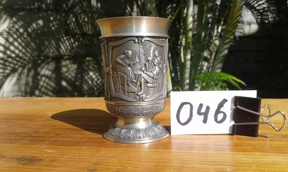Vaso Copa Caliz Medieval Vino Estaño Vikingo Alemania 046
