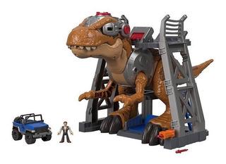 Imaginext Gran T.rex Fisher Price Jurassic World Espectacula