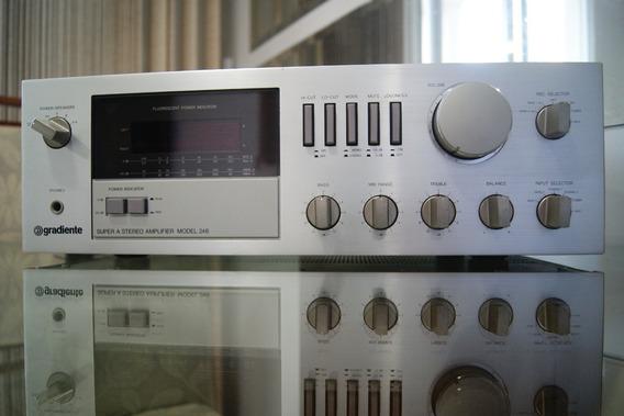 Amplificador Gradiente Model 246, Leia O Anuncio.