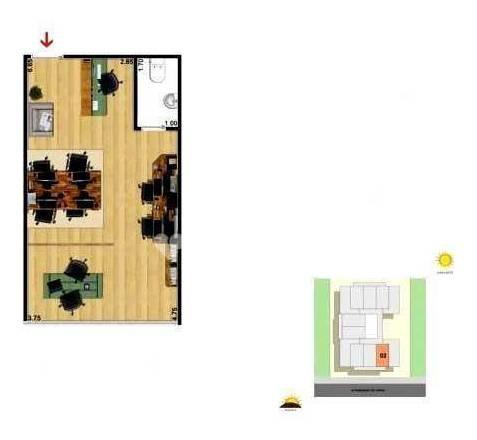 Imagem 1 de 8 de Sala À Venda, 25 M² Por R$ 130.000,00 - Centro - Itaboraí/rj - Sa1472