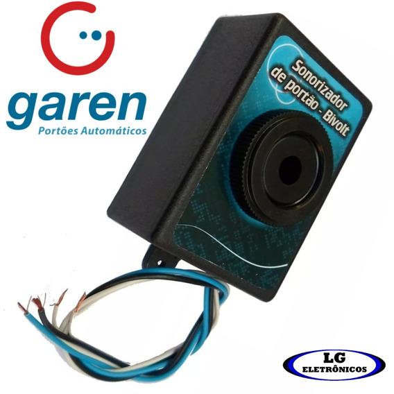 Alarme Sirene P/ Aviso De Portão Eletrônico Aberto Garen