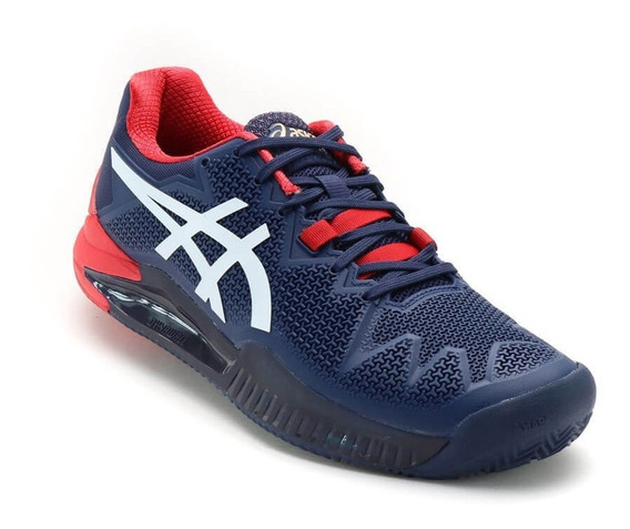 Tênis Asics Gel Resolution 8 Clay Masc. 2020- Saibro+ Brinde