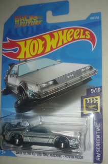 Hot Wheels Delorean