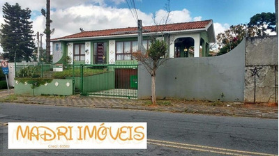 Casa Para Venda Em Curitiba, Santa Quitéria, 3 Dormitórios, 1 Suíte, 4 Banheiros, 3 Vagas - 400