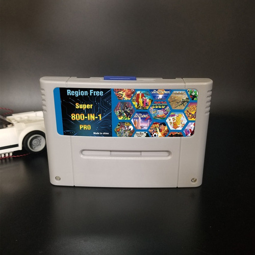 Cartucho Everdrive 800 Jogos Super Nintendo Famicon