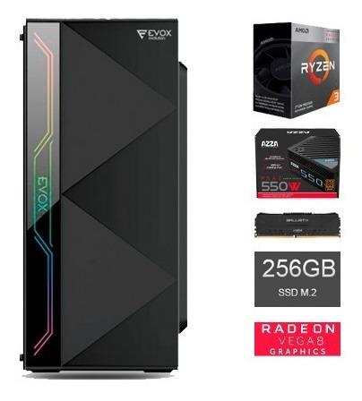 Computadora Amd Ryzen 3 3200g - Vega 8 - 5% Descuento