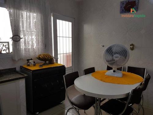 Imagem 1 de 30 de Casa Com 3 Dormitórios À Venda, 92 M² Por R$ 380.000,00 - Retiro São João - Sorocaba/sp - Ca0402