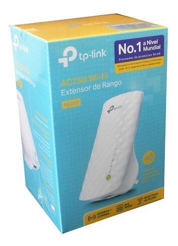 Imagen 1 de 7 de Extensor De Rango Wi-fi Ac750 Re200