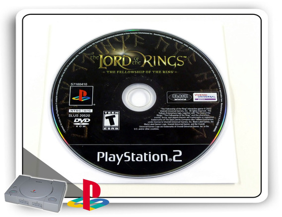 The Lord Of The Rings The Fellowship Of The Ring Origin. Ps2