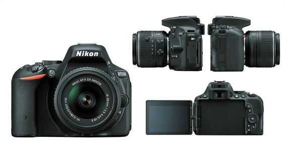 Máquina Fotográfica Ds5500-nikon Com Wi-fi , Lente 18-55mm.