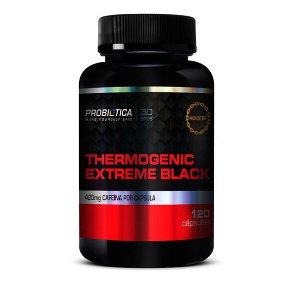 Thermogenic Extreme Black (120caps) Probiótica