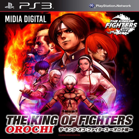Ps3 Psn* - The King Of Fighters Orochi Kof 95 96 97