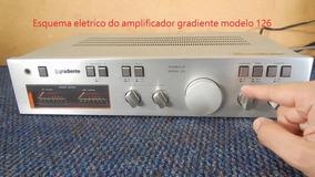 Esquema Elétrico Do Amplificador Gradiente Modelo 126