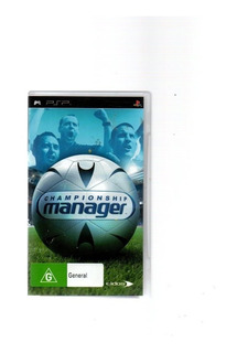 Jogo - Psp Championship Manager - Original (146)