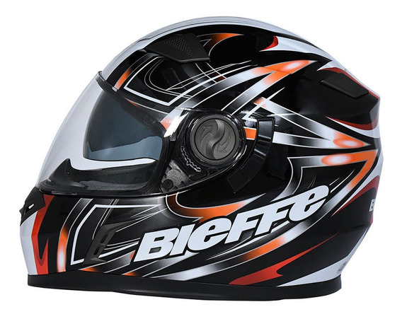 Casco Moto Integral Bieffe By Peels Doble Visor B52 B08