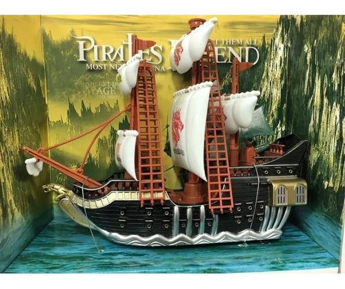 Barco Pirata Con Luces Y Sonido Grande Lyon Toys @ Mca