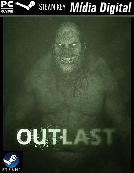 Pc - Outlast - Steam Key - Mídia Digital Jogo Pra Computador