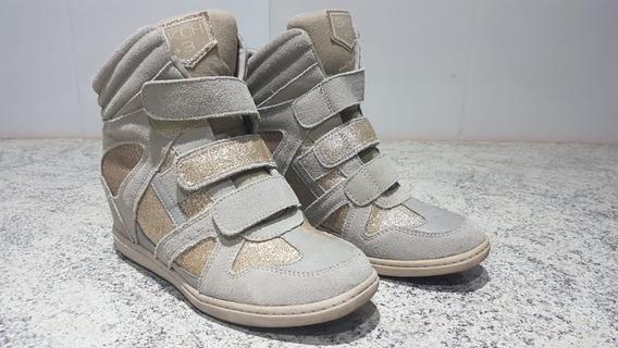 Tenis Feminino Scheker Salto Sneaker