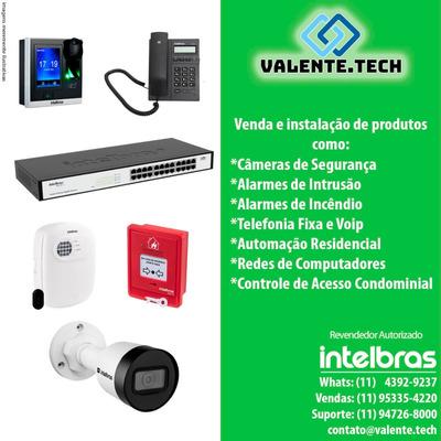Segurança Eletrônica/câmeras/alarmes/controle De Acesso
