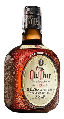 Old Parr 12 Años 1 Litro Whisky 100% Original
