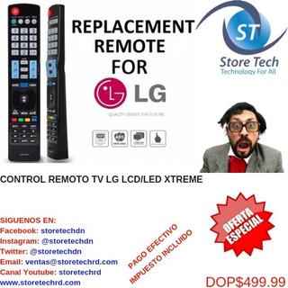 Control Remoto Tv Lg Lcd/led Xtreme
