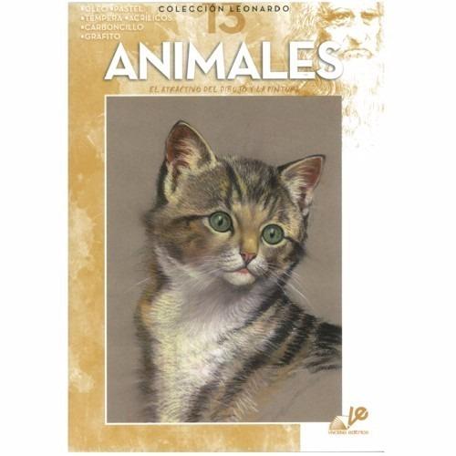 Livro Desenho Coleção Leonardo Vol 13 Animales Animais