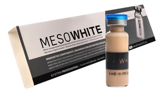 Kit Bb Glow Serum Tonalizante Iluminador Mesowhite 10 Ampola