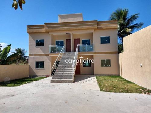Imagem 1 de 11 de Apartamento Com 2 Quartos (1 Suíte), À 50 Metros Da Rj106, São José Do Imbassaí - Maricá/rj - Ap0245