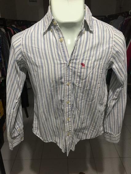Camisa Niño Abercrombie & Fitch Talla Xl Id 5049prenda Usada, Pide Tu Promo 3x2