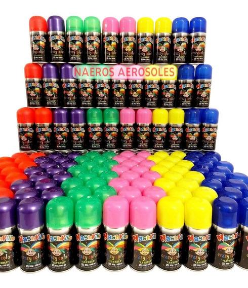 Pinta Pelo X72 Pintura Lavable Colores En Aerosol Cotillon