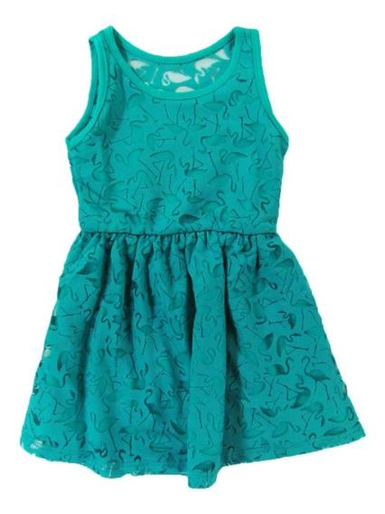 Vestido Infantil Bebê Com Transparência Delicado - Rovitex